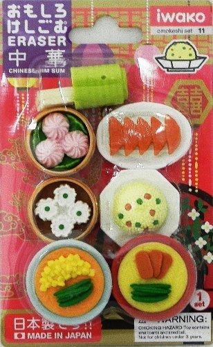 Chinese Foods Eraser Set 7pcs by EPC Epc-set
