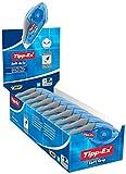 Tipp-Ex Soft Grip Korrekturroller mit ergonomischer Form / Korrekturband 10 m x 4,2 mm / 10er Pack