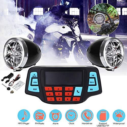 AIJICHE Audio-Aufnahmestudio Stereo-Lautsprechersystem FM-Radio MP3-Musik-Player-Roller ATV-Fernbedienung Alarm-Lautsprecher-Roller -