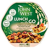 John West Light Lunches Moroccan Salmon 220g