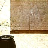 Bambusrollo Outdoor-Rollo Mit Beschlägen, Fenster/Pavillon/Balkon/Patio Bambus-Außenjalousien, 60cm / 80cm / 100cm / 120cm / 140cm Breit (Size : W 100×H 130cm)