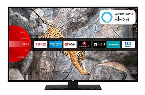 JVC LT-55V65LUA 140 cm (55 Zoll) Fernseher (4K Ultra HD, HDR10, Dolby Vision HDR, Triple Tuner, Smart TV, Bluetooth) Jvc Lcd