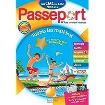 Passeport du CM1 au CM2 - Cahier de vacances