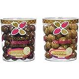Les douceurs de Valentin Mix Croustillants pack de 2 Caramel/Nougat 300 g - Lot de 2