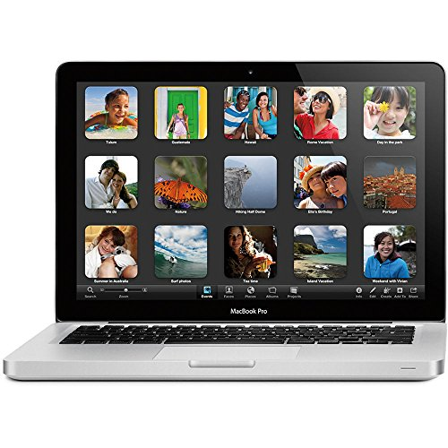 Apple MacBook Pro 13  MD101  Mid 2012  - Core i5 2 5GHz CPU - 4GB RAM - 240GB SSD - WIFI - BlueTooth - Webcam - OSX Sierra  Certified Refurbished