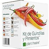 Plant Theatre Kit de Guindillas y Pimientos - 6 Diferentes variedades para crecer