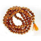 Arina Creations 108+1 Beads 5 Mukhi Rudraksh Mala