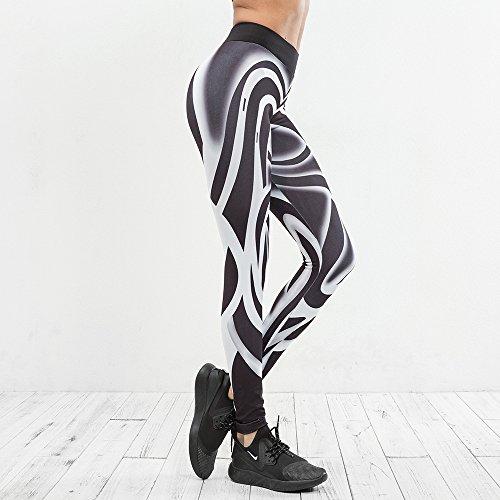 Huoduoduo Damen Sport Leggings, Farblich Passende Leggings, Dicke Yogahosen (Größe S, M, L, Geschenkschnur),S | 06852222426250