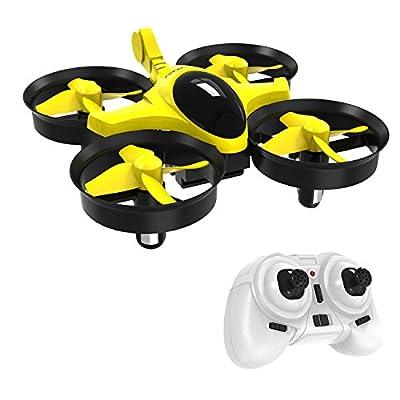 GoolRC Scorpion T36 Mini UFO Drone 2.4G 4CH 6-Axis Gyro 3D-Flip Anti-Crush UFO RC Nano Quadcopter RTF Drone Toys