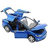 Ohwens Sports Car, 1pcs 1:32 Diecast Model Car Sound Light Music Alloy Pull Back Vehicle Kids Boys Girls Toy