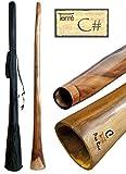 Didgeridoo aus Eukalyptus Tonhöhe CIS ca. 165-175 cm professionell perfekte Toots Reisetasche Aborigines Australien Percussion