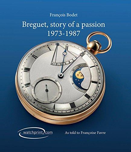 Breguet: Story of a Passion 1973-1987 par Somogy
