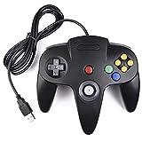 iNNEXT Nintendo 64 Controller USB Gamepad N64 PC-Controller Joypad Joystick F�r Windows Mac PC Raspberry Pi,Schwarz Bild