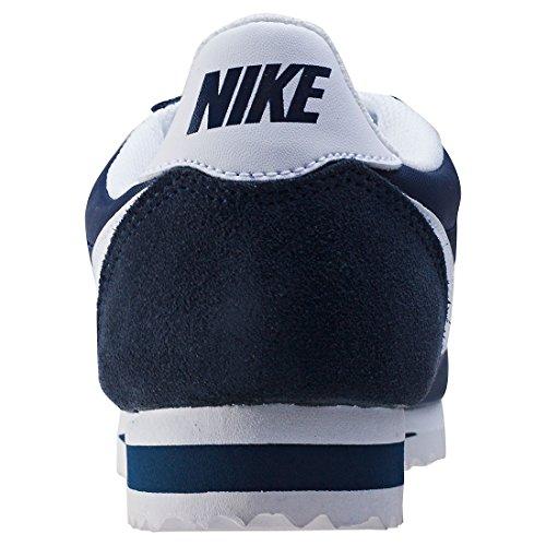 Nike Damen Wmns Classic Cortez Nylon Laufschuhe Azul (Azul (obsidian/white))