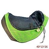 Pet Carrier Sling vorne Mesh-Taschen-Schulter-Beutel-Spielraum-Rucksack Messenger Tasche Umhängetasche Tasche