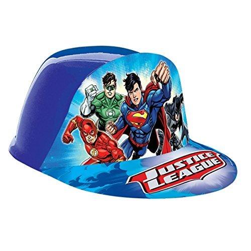 (Justice League Vac Form Hat [Contains 6 Manufacturer Retail Unit(s) Per Amazon Combined Package Sales Unit] - SKU# 251585)