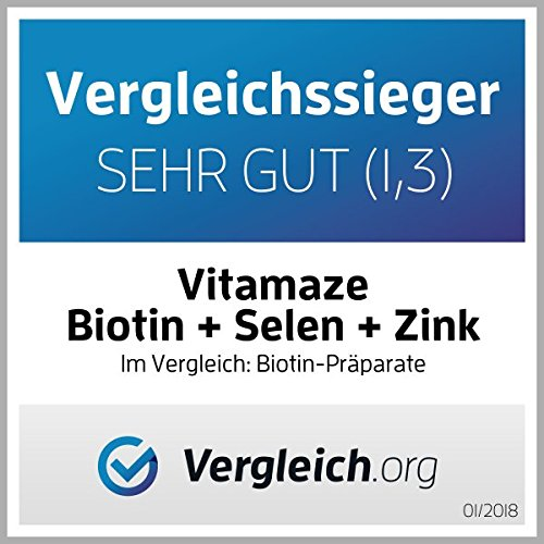 Vitamaze biotina, zinc y selenio