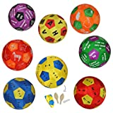 XL - Lernspielball - Obst + Gemüse für JEDE Sprache geeignet - Lernball zum Lernen für Kinder Erwachsene Tier - Lernspielball - Spielend für Kinder Erwachsene