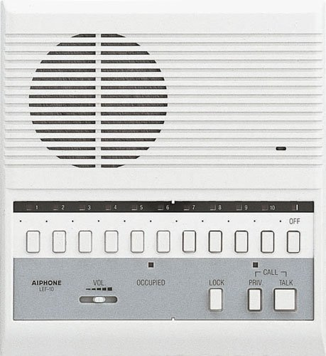 Aiphone LEF-10, 10-Call Master Station by Aiphone Aiphone-master-station