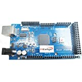 hiletgo ATmega2560–16AU CH340G Mega 2560R3Board Free USB Cable Compatible con T...