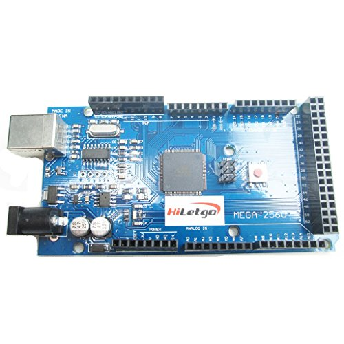 HiLetgo ATmega2560-16AU CH340G MEGA 2560 R3 Board With USB Cable Compatible to Arduino