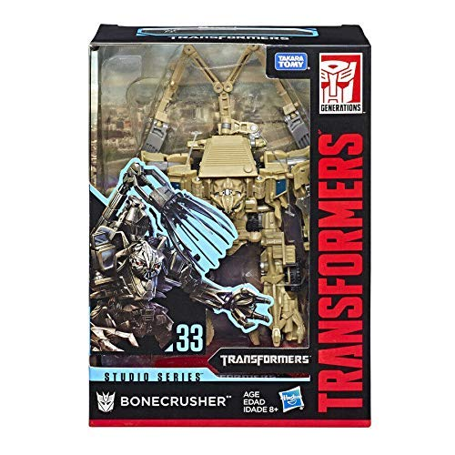 Transformers Studio Series Bonecrusher Movie Voyager Series 33 Action Figure