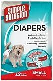 Pet Fulfillment 024BRA-10583 Einfache L-sung Einweg-Windeln Hund