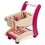 howa Einkaufswagen für Kinder aus Holz natur / bunt 4882