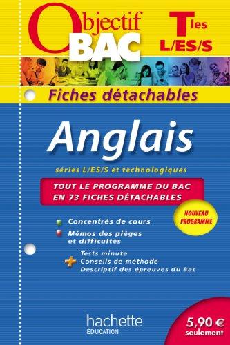Anglais Tles L/ES/S