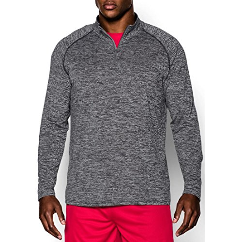 Under Armour Herren Ua Tech 1/4 Zip Fitness-Sweatshirts Schwarz/Weiß