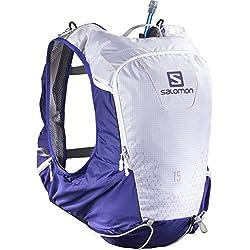 Salomon Skin Pro 15 Mochila, Unisex Adulto, Azul (Spectrum Blue), Talla Única