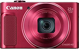 Canon SX620 HS PowerShot Fotocamera Digitale Compatta, Rosso