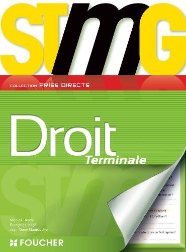 Prise directe Droit Tle Bac STMG de Jean-Rémy Mautouchet (2 mai 2013) Broché