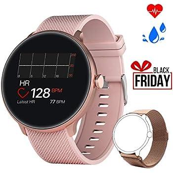 Bebinca Smartwatch Reloj Inteligente con Cronómetro, Pulsera Actividad para Deporte,Reloj de Fitness con Podómetro Hombre Mujer Niños para Samsung ...