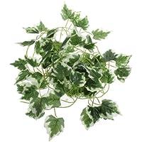 TB3C-6.56ft Artificial Ivy Leaf Garland Plants Vine Fake Foliage Flowers Home Decor,Grape Leaves