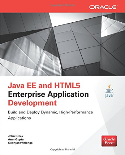 java-ee-and-html5-enterprise-application-development