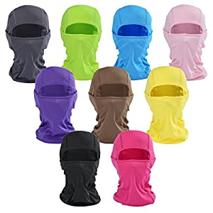 Balaclava Face Mask - Beeway® Premium Multi-Purpose Breathable Sports Mask for Outdoor Skiing Cycling Motorcycling Helmet Hiking Camping - Men Women Kids, Colors, All the Year Round by BEEWAY
