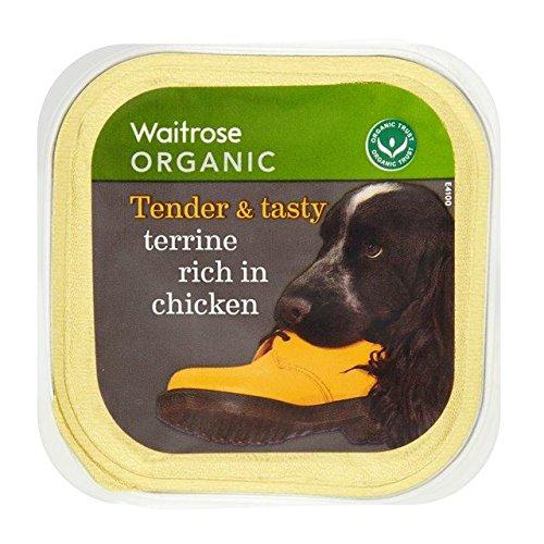 Bio-Hundefutter Reich An Huhn Terrine 150G Waitrose (Packung mit 4) (Bio-kaninchen Essen)