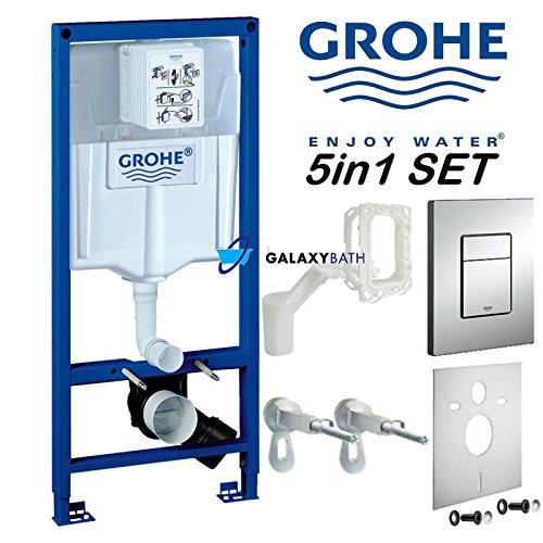 Grohe Rapid SL Fresh 5in1WC Spülkasten WC Rahmen Skate Cosmopolitan 38827000