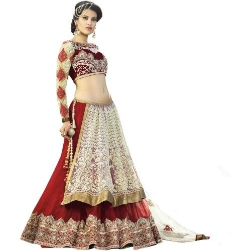 Lehenga for women party wear (choli for wedding function for women gowns...