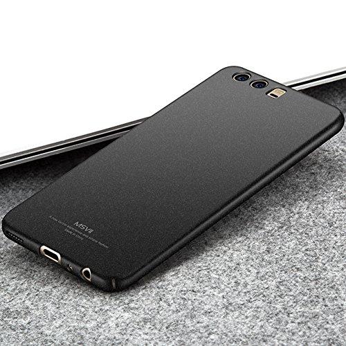 Coque Huawei P10 5,1 pouces, MSVII® PC Plastique Coque Etui Housse Case et Protecteur écran Pour Huawei P10 5,1 pouces - Or rose JY30037 Noir