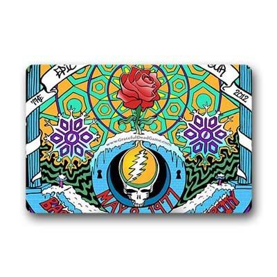 """Dalliy grateful dead Zerbino Personalizzato Doormat 23.6""""x15.7"""" about 59.9cmx39.8cm"""