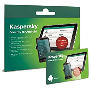 Kaspersky Security for Android Smartphones and Tablets (1 Year subscriptions)