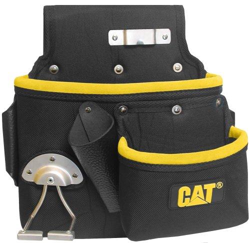 CAT Profi Werkzeug-Gürteltasche mit Hammerhalter