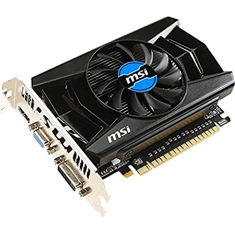 MSI GeForce GT 740 2 GB - Tarjeta gráfica GeForce GT 740 2 GB (ATX, HDMI, DL-DVI-D, D-sub, GDDR5, 128 x 32 bit)
