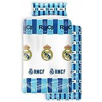 Atmosfera Home Juego Sabanas Real Madrid (Cama 90cm) Incluye funda de almohada