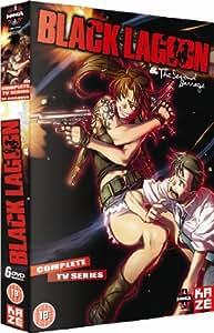 Black Lagoon Season 1 & 2 Collection DVD Box Set