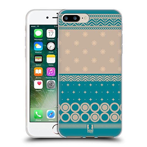 Head Case Designs Daisy Fiori Romantici Cover Morbida In Gel Per Apple iPhone 7 Plus / 8 Plus Bondi