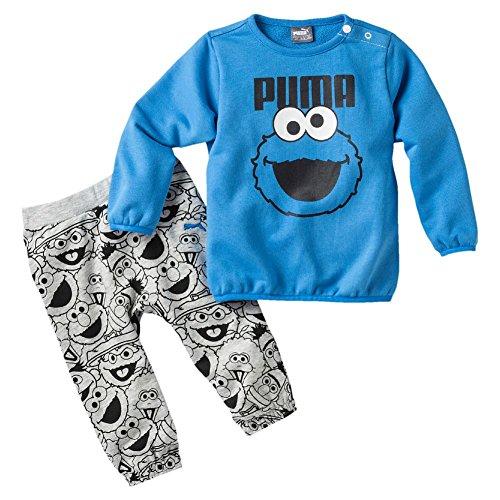 Puma Sesame Street Infant Jogger, Tuta da Ginnastica Bambini e Ragazzi, French Blue, 104