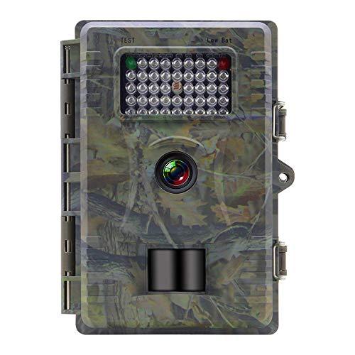 Hinterkamera 12MP 1080P, Kamera für die Jagd auf wild lebende Tiere, IP66-wasserdichte WildkameraDesign für die Jagd auf wild lebende Tiere und für die Sicherheit zu Hause